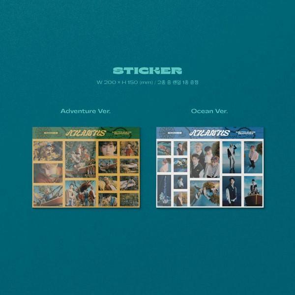 SHINee 7thアルバム リパッケージ - Atlantis CD (韓国盤)|scriptv|08