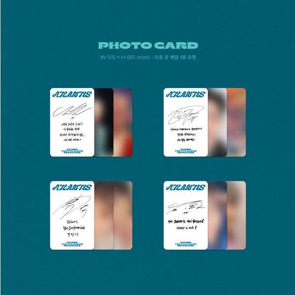 SHINee 7thアルバム リパッケージ - Atlantis CD (韓国盤)|scriptv|10