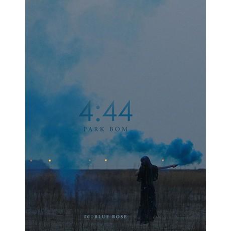パク・ボム リパッケージアルバム - Blue Rose CD (韓国盤) scriptv