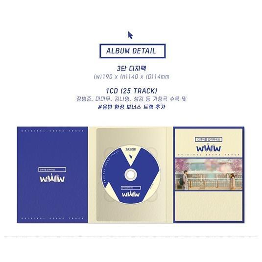 検索ワードを入力してください:WWW OST (tvN TV Drama) CD (韓国盤) scriptv 04