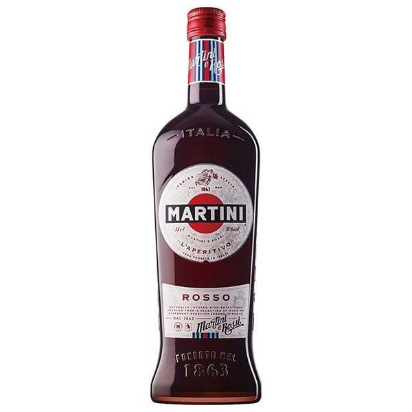 マルティーニ ロッソ 瓶 750ml イタリア 赤 ヴェルモット バカルディ 送料無料 本州のみ|se-sake