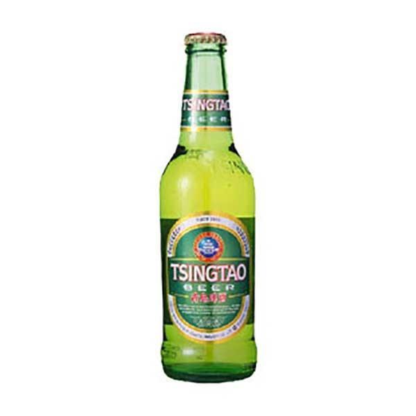 ビール チンタオ 青島 ビール (瓶) 330ml x 24本(ケース販売) (同梱不可) あすつく se-sake