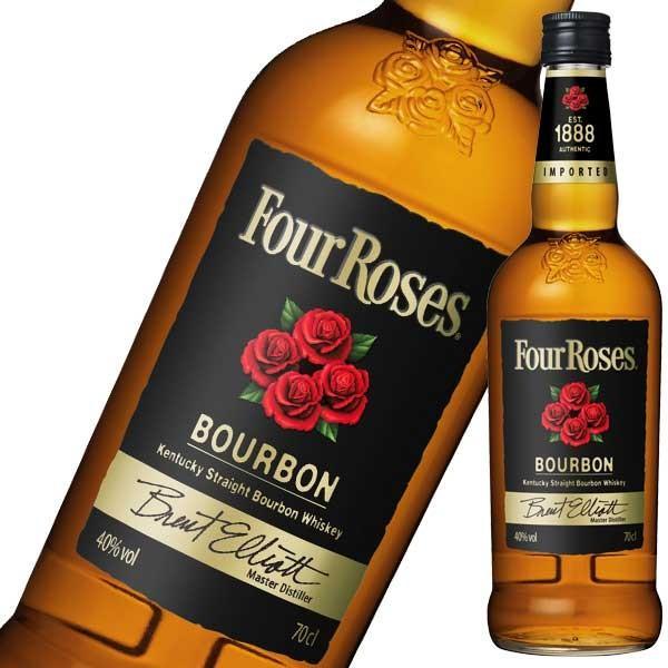 ウイスキー フォアローゼズ ブラック 40度 700ml 正規品 (アメリカ ウイスキー フォアローゼス) whisky|se-sake