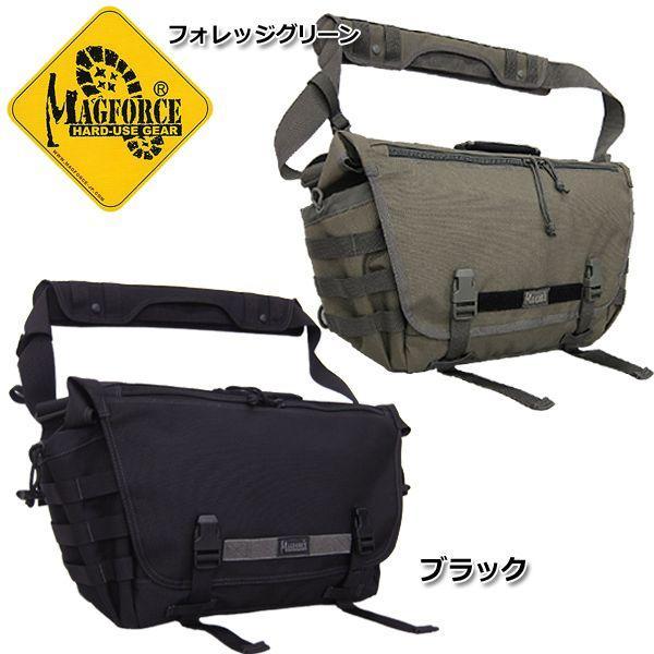 ノベルティープレゼント MAGFORCE MF-6023 タクティカル メッセンジャーバッグ 【タン/FGW】【ブラック】|seabees
