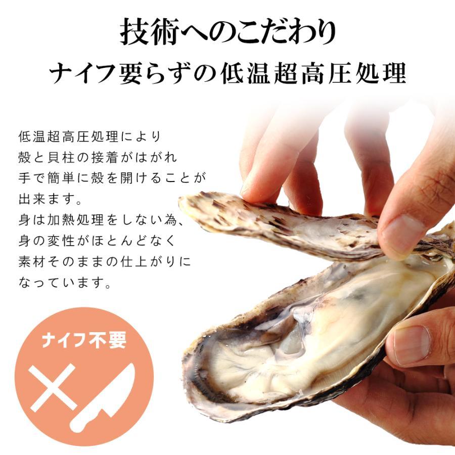 お刺身用 牡蠣 生食用 殻付き  6個 冷凍 父の日 プレゼント 60代 70代 80代 seafoodhonpo88 05