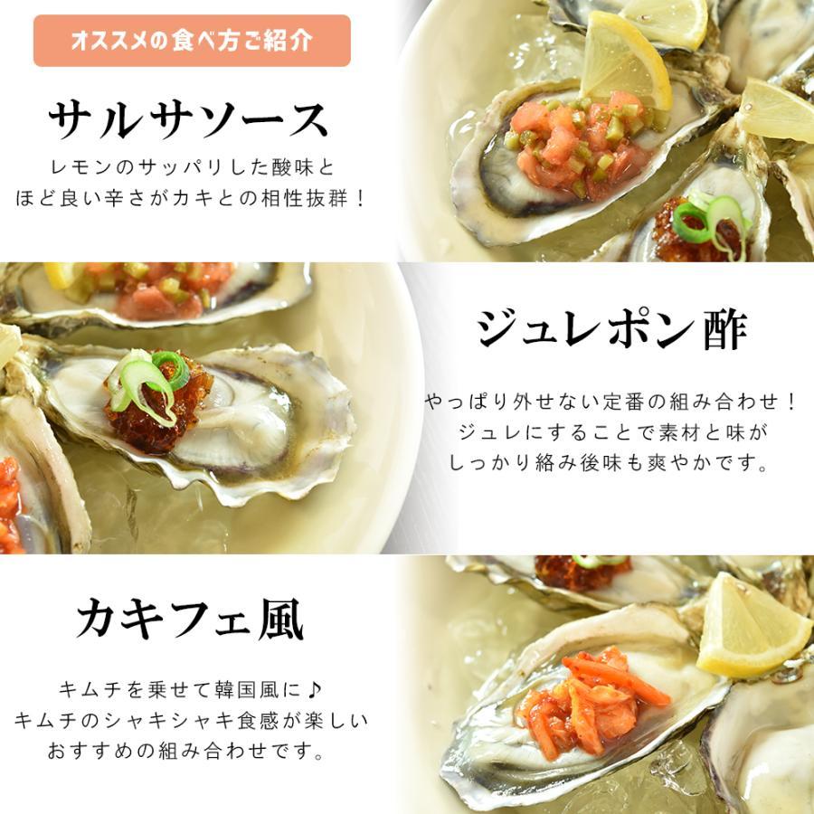 お刺身用 牡蠣 生食用 殻付き  6個 冷凍 父の日 プレゼント 60代 70代 80代 seafoodhonpo88 08