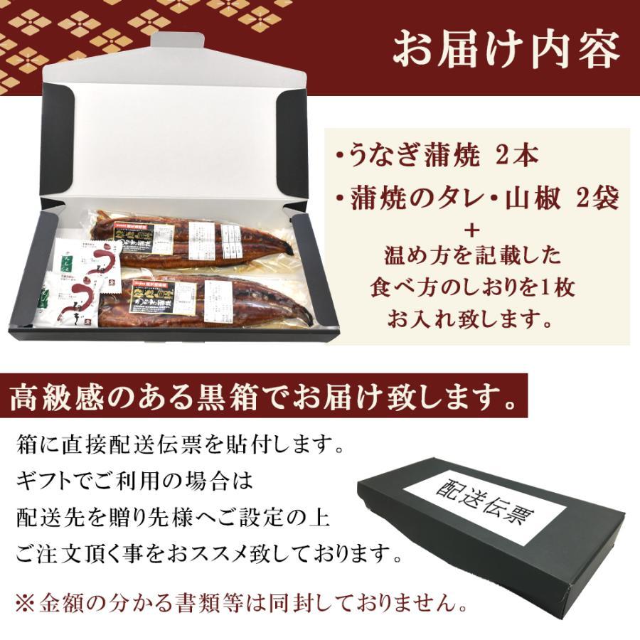 父の日 プレゼント 2021 鹿児島 うなぎ 蒲焼き 2本 特大 ギフト|seafoodhonpo88|08