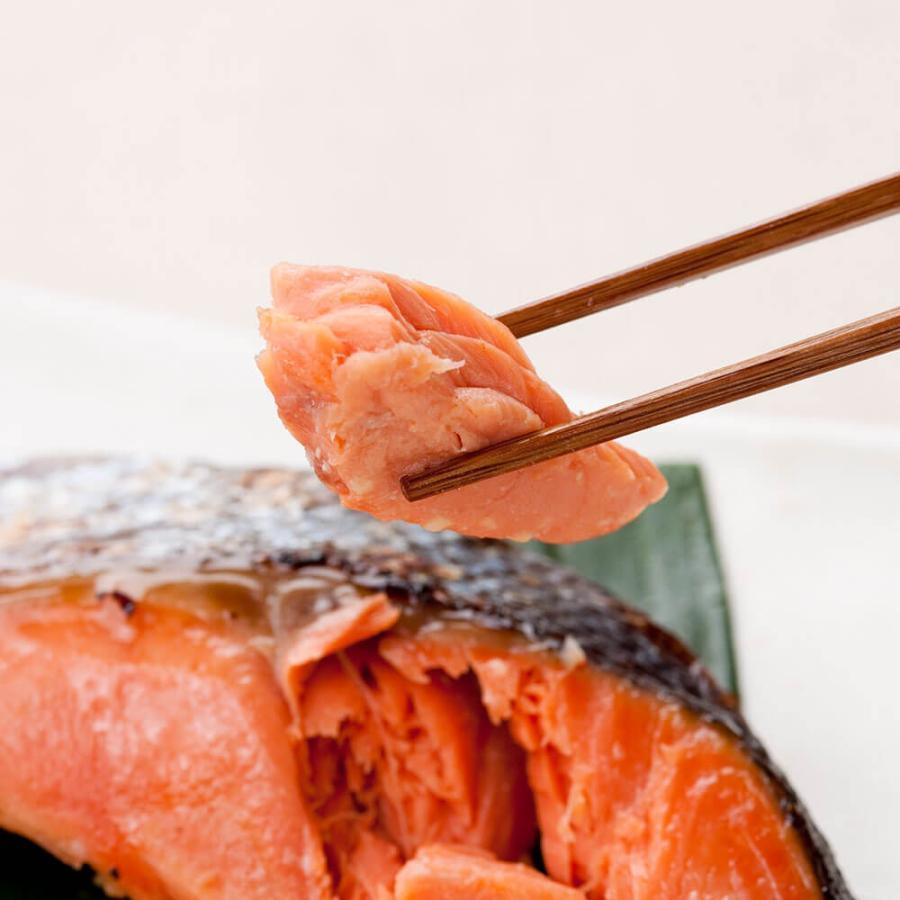 西京漬け 魚 ギフト 6切 紅鮭 鰆 詰め合わせ|seafoodhonpo88|07
