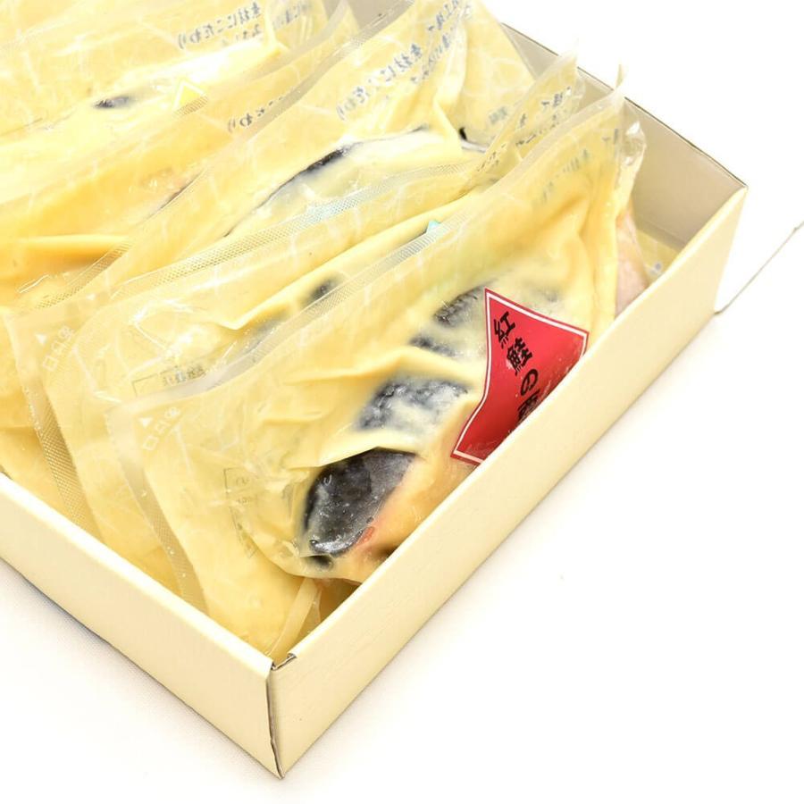 西京漬け 魚 ギフト 6切 紅鮭 鰆 詰め合わせ|seafoodhonpo88|08