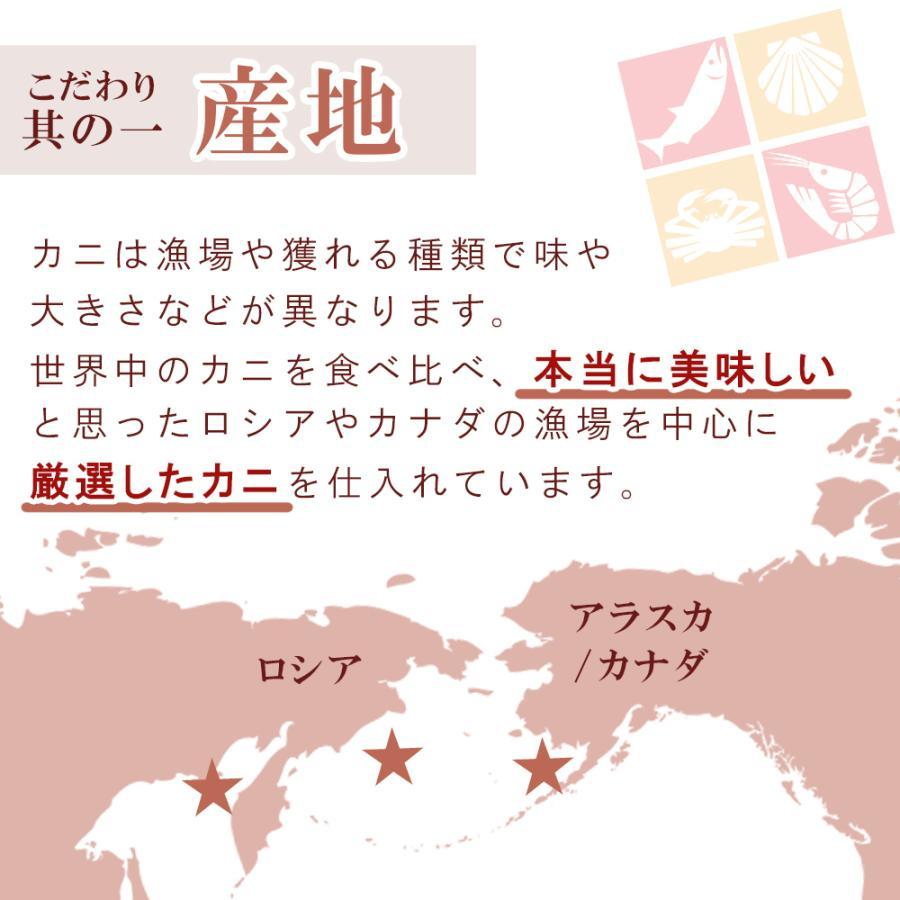 蟹 ズワイガニ 生 ハーフポーション 2.4kg 父の日 プレゼント 60代 70代 80代|seafoodhonpo88|05
