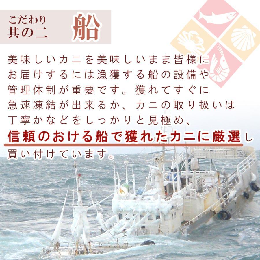 蟹 ズワイガニ 生 ハーフポーション 2.4kg 父の日 プレゼント 60代 70代 80代|seafoodhonpo88|06