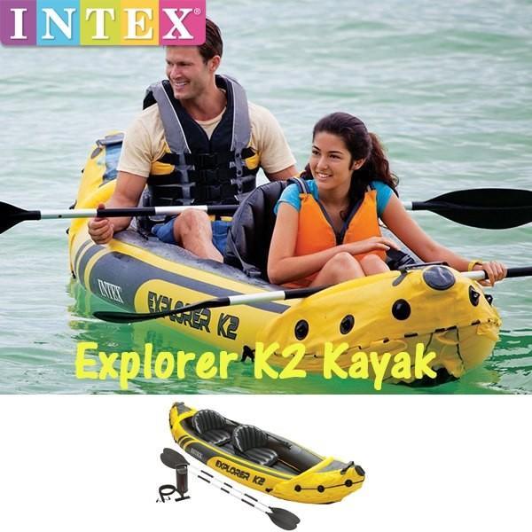 INTEX(インテックス) エクスプローラー K2 カヤック 68307(船/ボート/マリンスポーツ)
