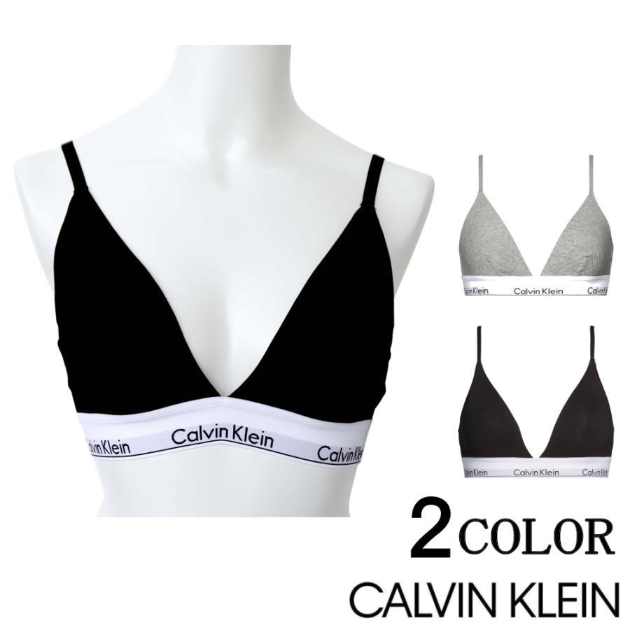 カルバンクライン ブラジャー トライアングル CALVIN KLEIN アンダーウェア Triangle Bra Modern S/M/L/XL 000qf5650e|sears-collection