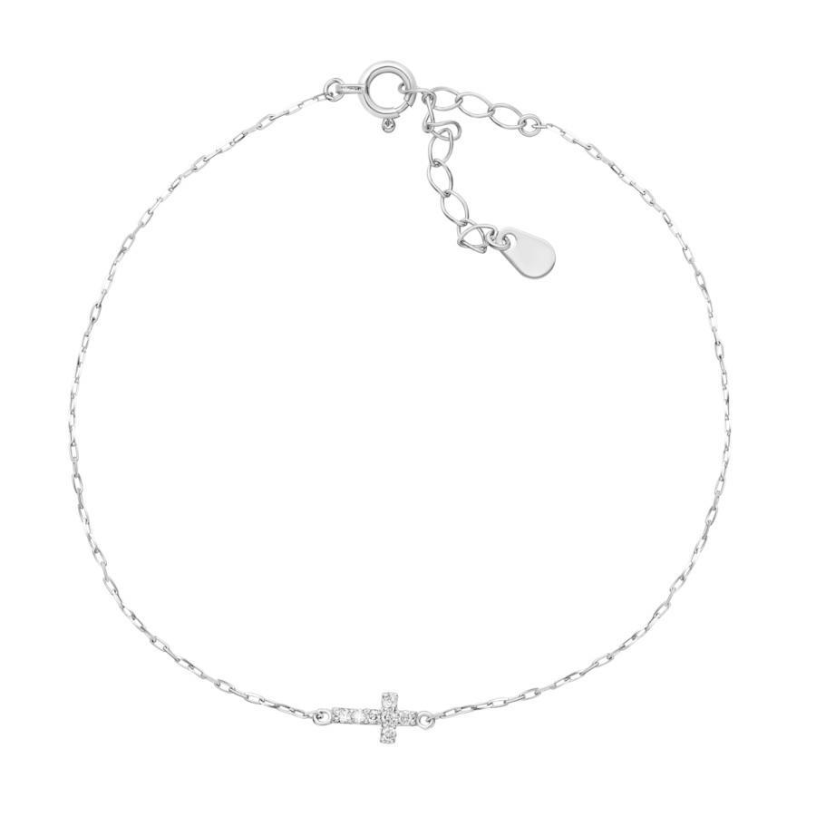 ブレスレット レディース k18 ダイヤモンド クロス 2way 0.05ct PT900 LARA Christie ララクリスティー プレゼント|sears-collection|03