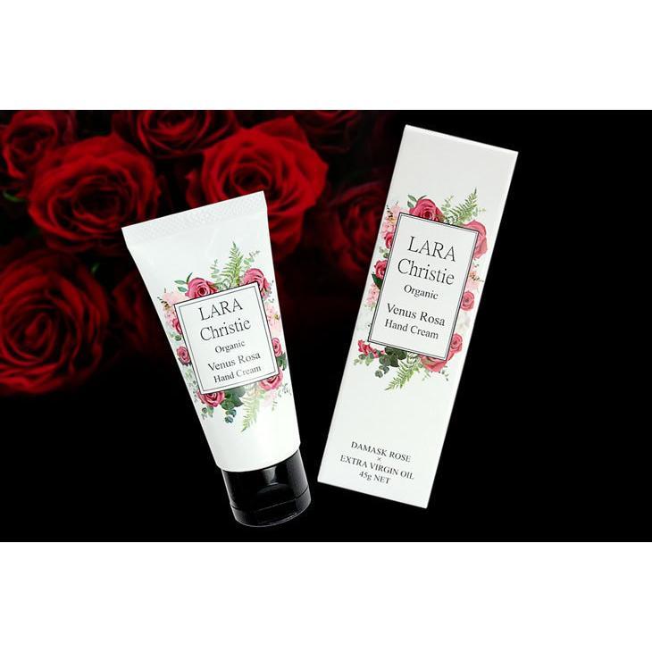 ララクリスティー LARA Christie ハンドクリーム ヴィーナスローザ Venus Rosa Hand Cream 45g lcs91-0001 敬老の日|sears-collection|04