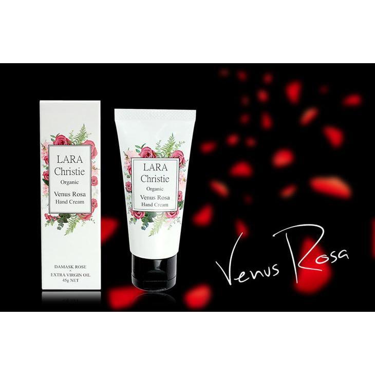 ララクリスティー LARA Christie ハンドクリーム ヴィーナスローザ Venus Rosa Hand Cream 45g lcs91-0001 敬老の日|sears-collection|06