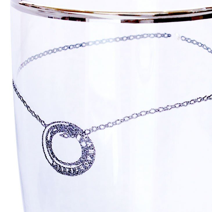 ペアグラス ビアタンブラー プラチナ 縁巻き グラス セット LARA Christie ララクリスティー ブランド 敬老の日 sears-collection 05