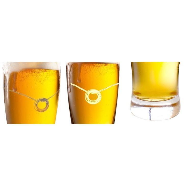 ペアグラス ビアタンブラー プラチナ 縁巻き グラス セット LARA Christie ララクリスティー ブランド 敬老の日 sears-collection 07