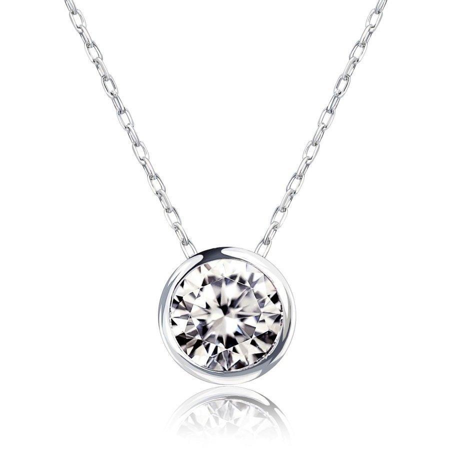 ダイヤモンド ネックレス レディース ダイヤモンド フクリン 0.3ct 一粒 ダイヤモンド PT900 LARA Christie ララクリスティー プラチナム コレクション|sears-collection|03