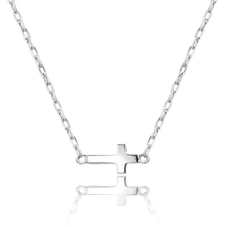 ネックレス レディース 18金 ダイヤモンド クロス 2way プラチナ 0.05ct PT900 LARA Christie ララクリスティー sears-collection 09