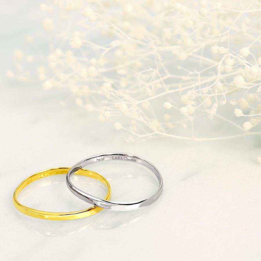 指輪 レディース プラチナリング PT950 LARA Christie ララクリスティー エターナル マリッジリング 結婚指輪 5号〜23号 宇垣美里 着用モデル|sears-collection|04