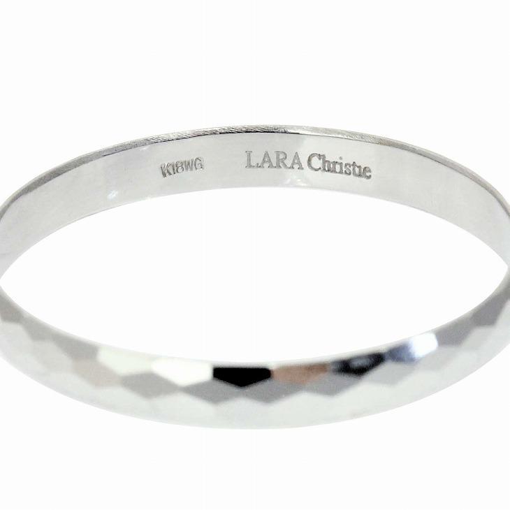 リング 指輪 ホワイトゴールド K18WG ペア ジオメトリーマリッジリング LARA Christie ララクリスティー PLATINUM プラチナム COLLECTION lr56-0002|sears-collection|09