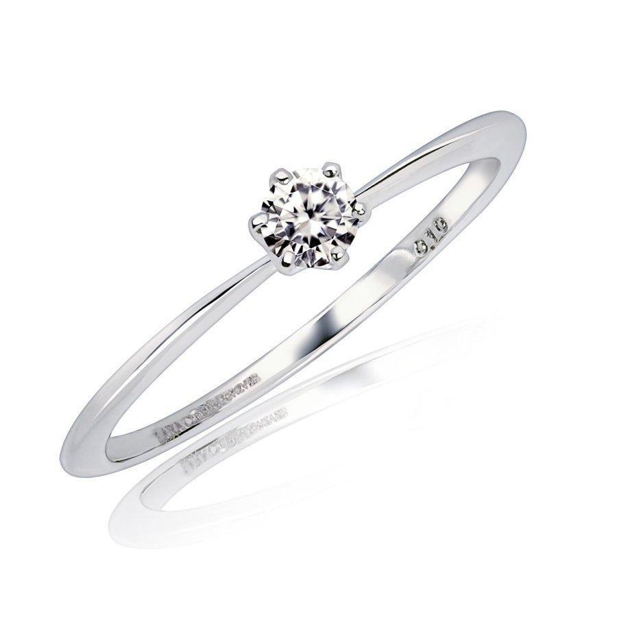エンゲージリング ダイヤモンド指輪  FOREVER ダイヤモンド 0.1ct PT950 K18 ゴールド LARA Christie ララクリスティー PLATINUM lr71-0003|sears-collection|03