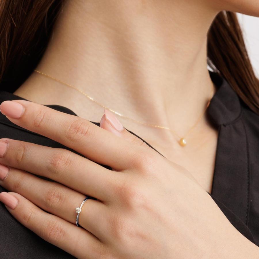 エンゲージリング ダイヤモンド指輪  FOREVER ダイヤモンド 0.1ct PT950 K18 ゴールド LARA Christie ララクリスティー PLATINUM lr71-0003|sears-collection|06