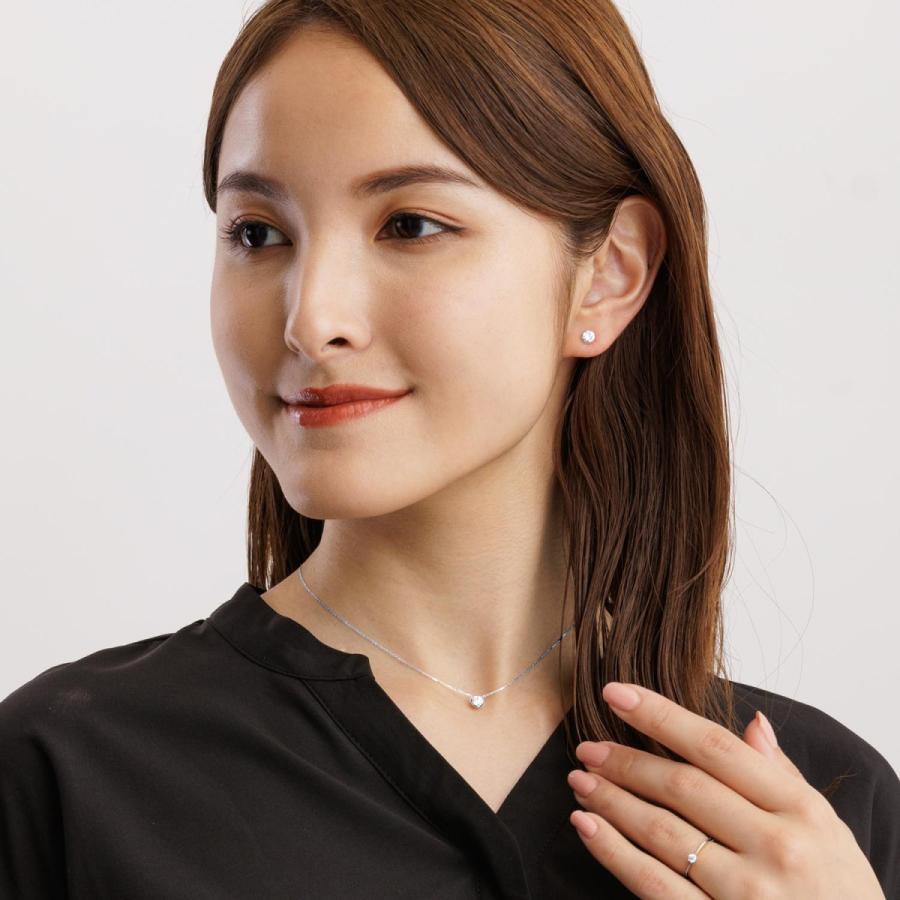 エンゲージリング ダイヤモンド指輪  FOREVER ダイヤモンド 0.1ct PT950 K18 ゴールド LARA Christie ララクリスティー PLATINUM lr71-0003|sears-collection|07