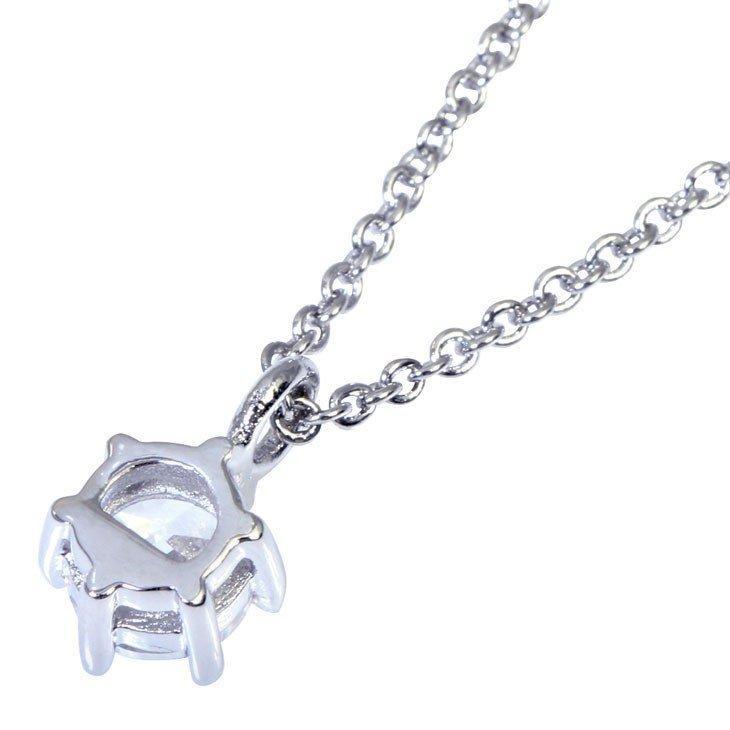 ネックレス レディース 一粒CZ  ダイヤモンドローズ プリザーブドフラワー 薔薇 バラ 1輪 誕生日 Sears (シアーズ)|sears-collection|09