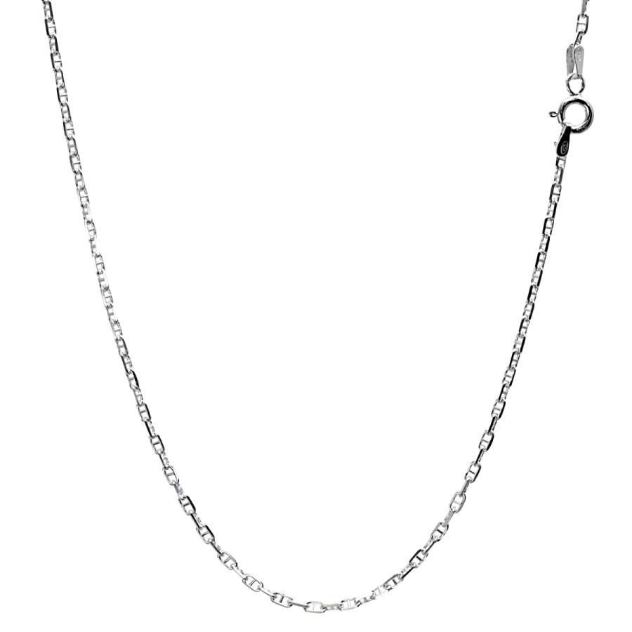 ネックレス チェーン シルバー SILVER 925 アンカーチェーン 幅2.3mm 長さ 40/45/50/55/60cm sak60 Sears シアーズ|sears-collection|02