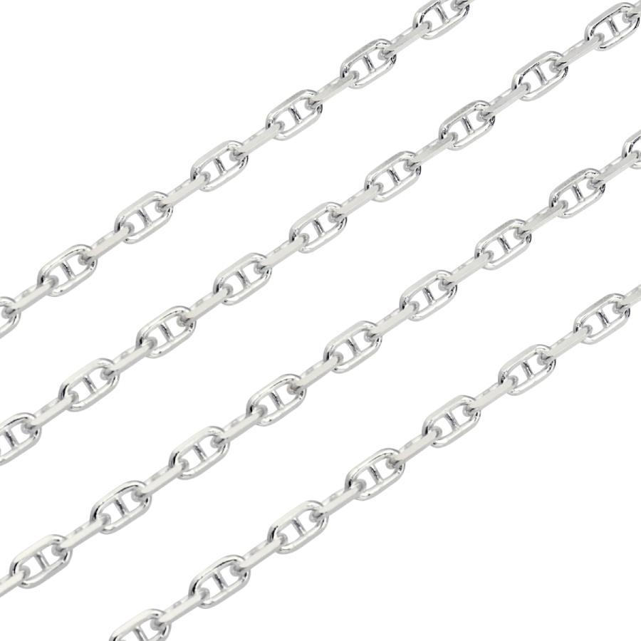 ネックレス チェーン シルバー SILVER 925 アンカーチェーン 幅3.0mm 長さ 40/45/50/55/60cm sak80 Sears シアーズ|sears-collection|05