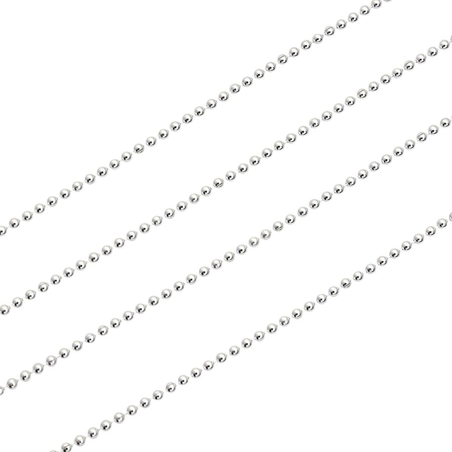 ネックレス チェーン シルバー SILVER 925 ボールチェーン 幅1.2mm 長さ 40/45/50/55/60cm sbc120 Sears シアーズ|sears-collection|05