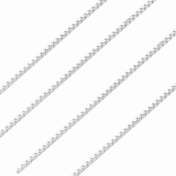 シルバー チェーン ネックレス SILVER 925 ベネチアンチェーン 幅1.2mm 長さ 40/45/50/55/60cm sv125 ネコポス便 Sears (シアーズ)|sears-collection|05