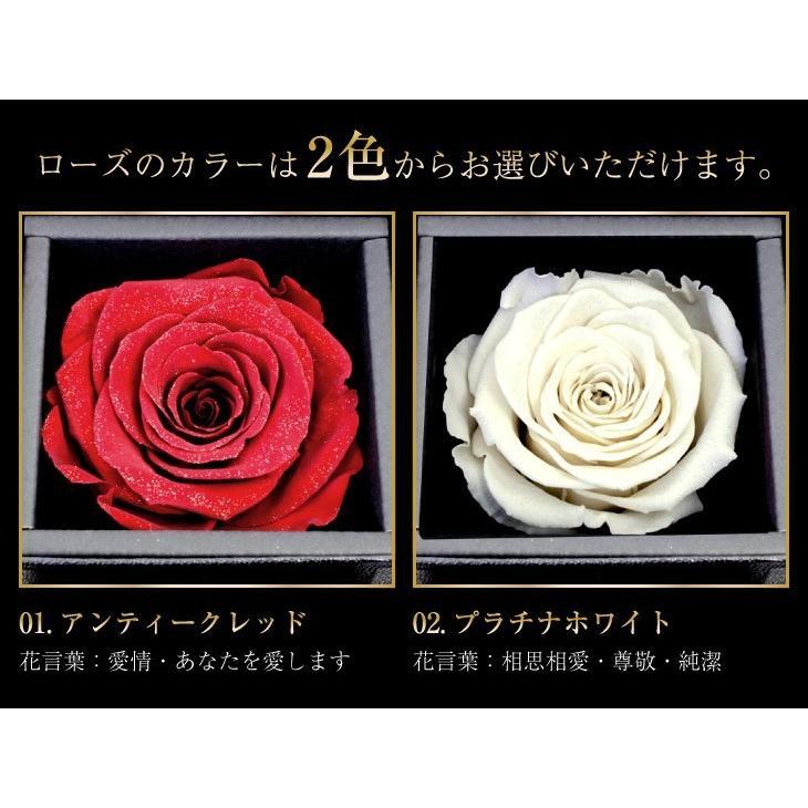 ダイヤモンド ネックレス レディース 6本爪 プリザーブドフラワー ローズ 薔薇 ボックス Sears (シアーズ)|sears-collection|13