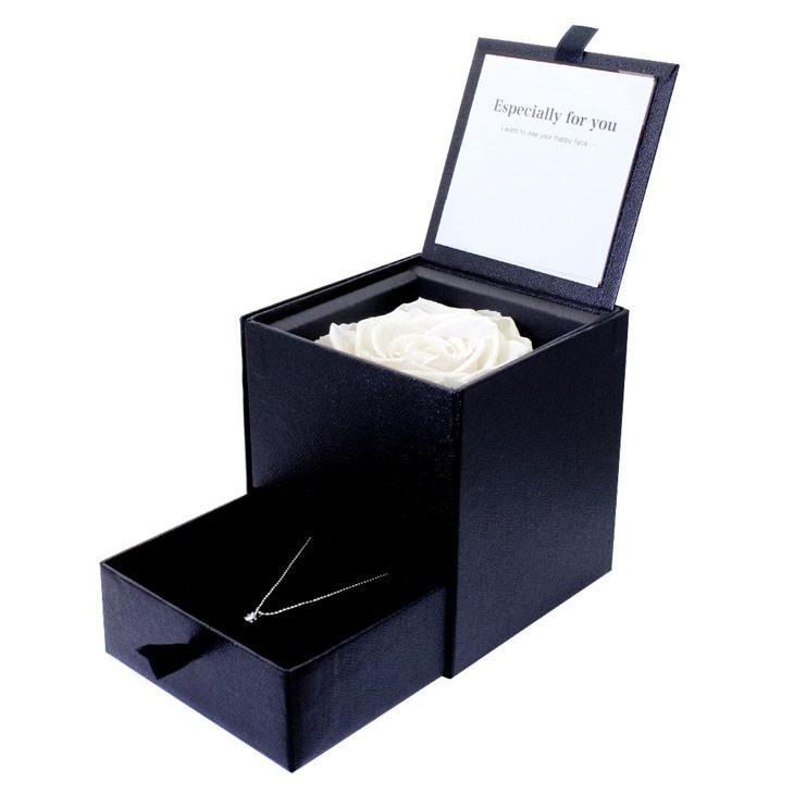 ダイヤモンド ネックレス レディース 6本爪 プリザーブドフラワー ローズ 薔薇 ボックス Sears (シアーズ)|sears-collection|05