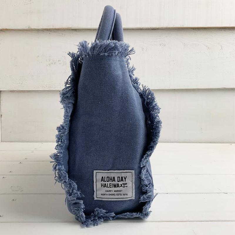 フリンジアロハ刺繍トートバッグ ハワイアンブランドハレイワ 小さめサイズ レディースバッグ 小物バッグ seashells-zakka 13