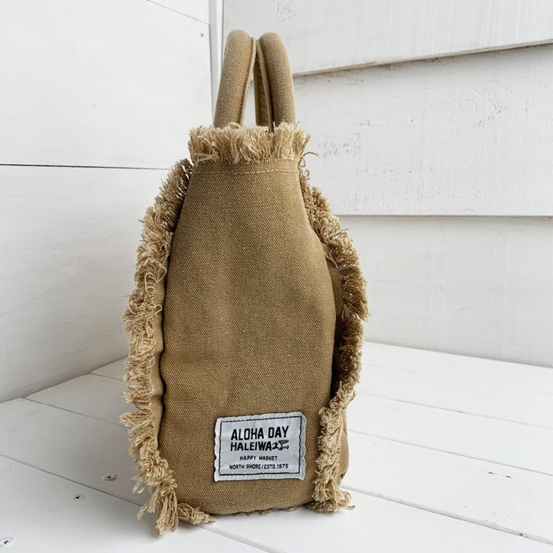 フリンジアロハ刺繍トートバッグ ハワイアンブランドハレイワ 小さめサイズ レディースバッグ 小物バッグ seashells-zakka 19