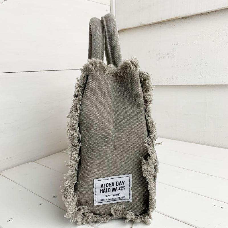フリンジアロハ刺繍トートバッグ ハワイアンブランドハレイワ 小さめサイズ レディースバッグ 小物バッグ seashells-zakka 06