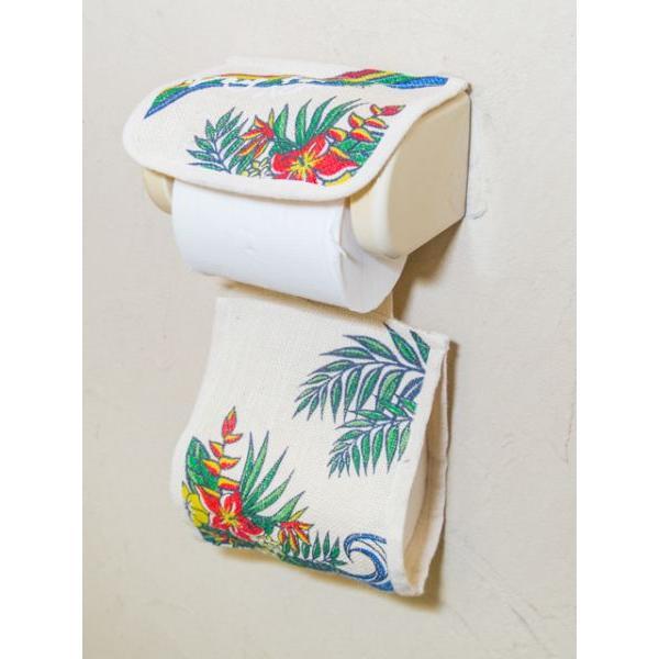 トイレットペーパーカバー トイレ用ハワイアン柄ペーパーカバー おしゃれなワーゲンイラスト かわいいホヌ カメ seashells-zakka 06