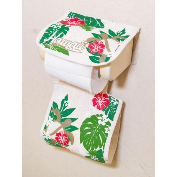 トイレットペーパーカバー トイレ用ハワイアン柄ペーパーカバー おしゃれなワーゲンイラスト かわいいホヌ カメ seashells-zakka 07