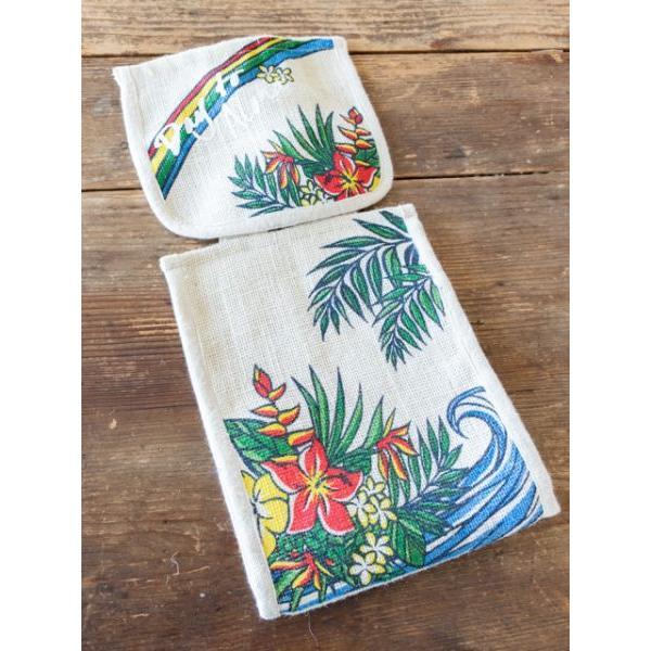 トイレットペーパーカバー トイレ用ハワイアン柄ペーパーカバー おしゃれなワーゲンイラスト かわいいホヌ カメ seashells-zakka 03