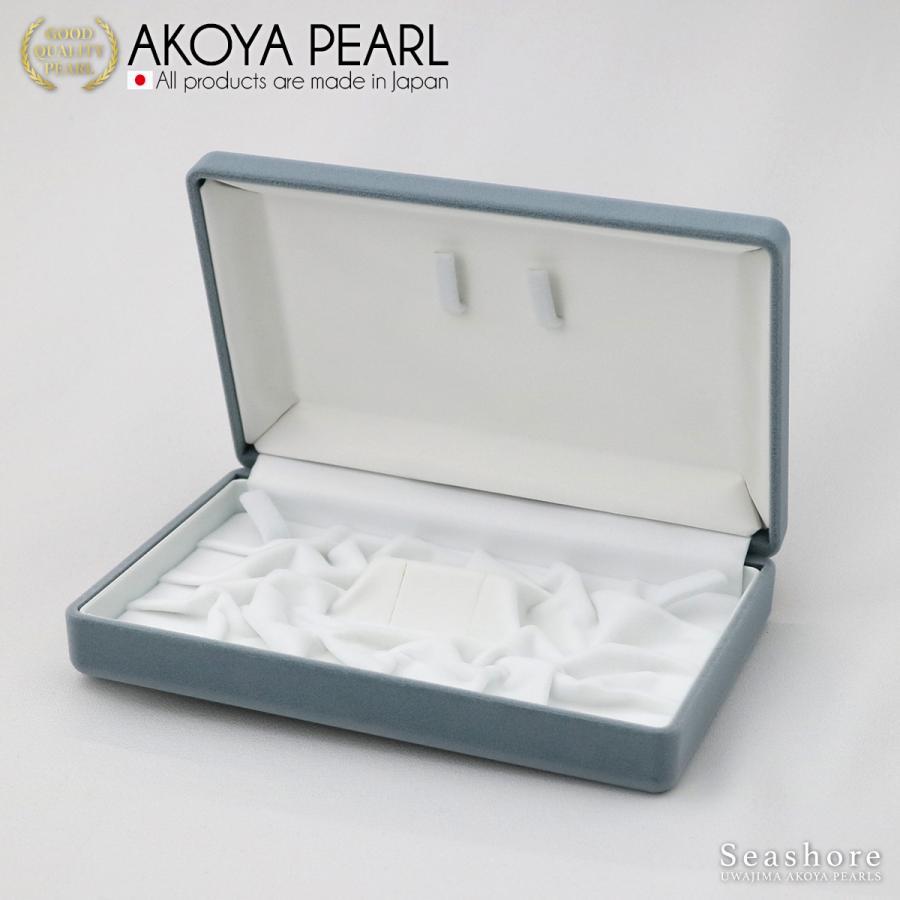 ジュエリー アクセサリー ケース 真珠 NEW売り切れる前に☆ パール ネックレス イヤリング フォーマルセット 送料無料 コンパクト 化粧箱 ボックス 収納 ギフト 宝石 グレー 低廉