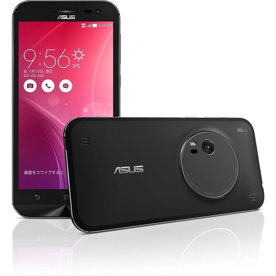 【国内正規品】エイスース SIMフリースマートフォンZenFone Zoom 32GBモデルスタンダードブラック ZX551ML-BK32S4PL【新品SALE】 secondimpression