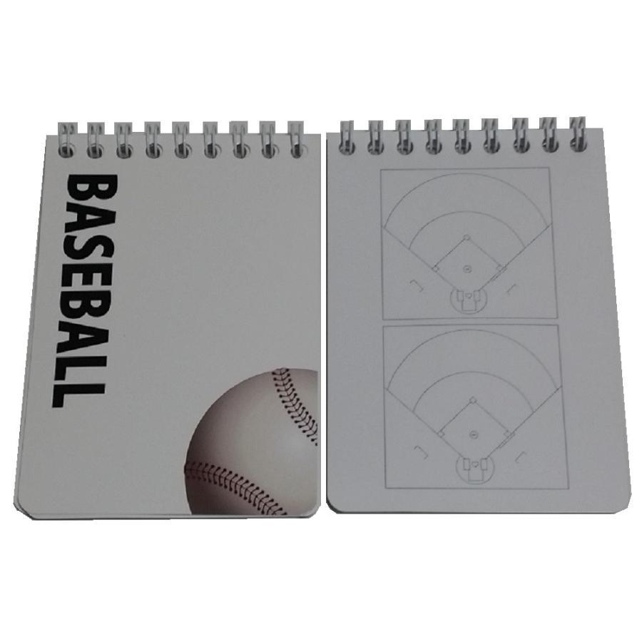 スポーツ戦略ハンディメモ帳 野球 10冊|secondlives|03