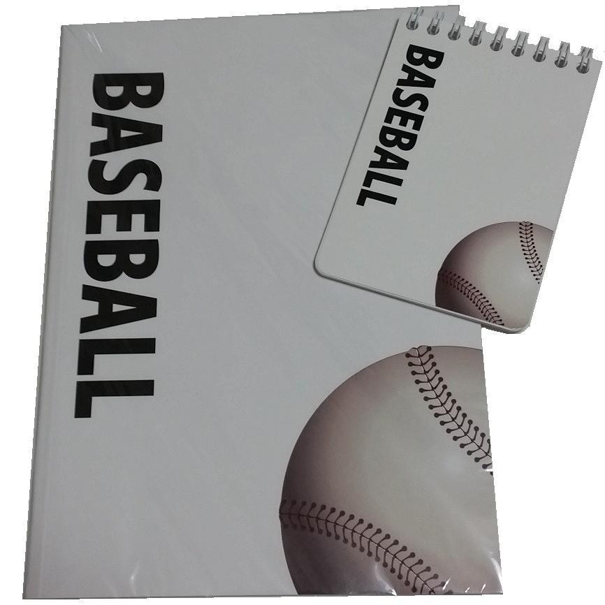野球ノート 2点セット 戦略ハンディメモ帳 スポーツノート 新入荷 流行 入荷予定