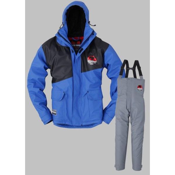 ウォーターロックス PUオールウェザースーツ WRFW‐5114 ブルー M