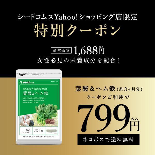 発売モデル 業界No.1 サプリ サプリメント 葉酸 ヘム鉄 ダイエット 約3ヵ月分 カルシウムビタミン入り