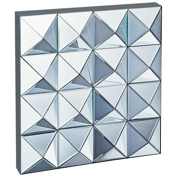 ユーパワー スペース ミラーアート「ピラミッド」 ミラーアート「ピラミッド」 SM-26001(A&B)(送料込み)