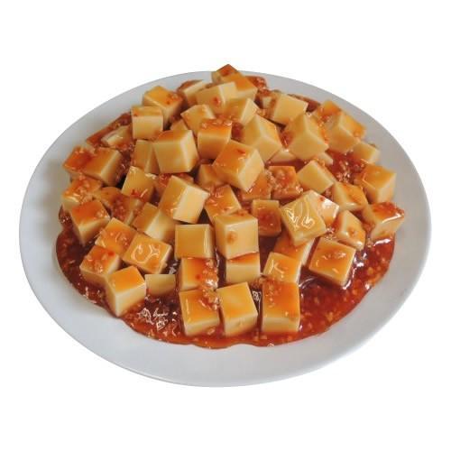 日本職人が作る 食品サンプル マーボードーフ IP-168(A&B)(送料込み)